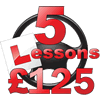 First 5 lessons for £125 Image